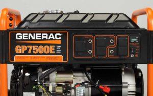 Generac Home Generator GP 7500