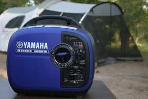 Yamaha Generator While Camping