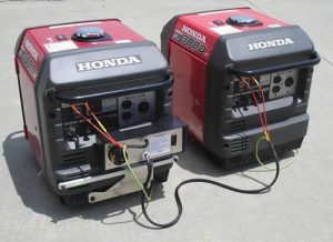 Honda Generators Run In Parallel